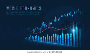 Stock Trading Charts Stock Vectors Images Vector Art