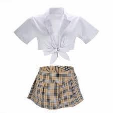 Women <b>Sexy</b> Lingerie Student <b>School</b> Girl Cosplay <b>Uniform</b> Suit ...