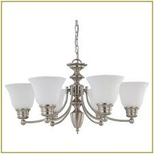 glass chandelier shades home depot