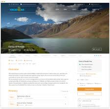 Trip Itinerary Builder Itinerary Builder For Travel Tour Operator Vacation Labs
