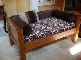 diy dog bed bench