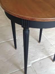 Table Ronde Patinee Noire D Co Diy Pinterest Salons Tables Pin Table Ronde Avec Rallonge Design Images On Pinterest
