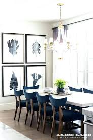 blue dining room chairs table set with some navy velvet full size