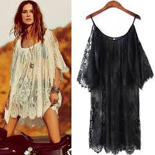 plus size cover up 2016 sexy women dress clothing summer batwing sleeve white black