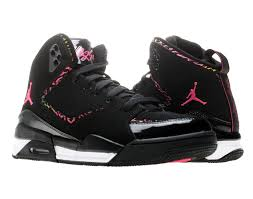 jordan shoes for girls black and pink. nike air jordan sc-2 (gs) girls basketball shoes [459856-009 for black and pink