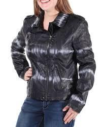 bar iii 120 womens 1523 black acid wash casual jacket m b b