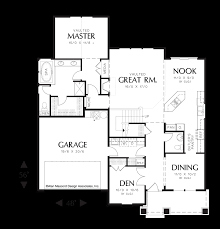 image for ackley cozy european cottage plan with deluxe master suite main floor plan