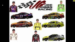 2016 Nascar Team Chart 2016 Nascar Sprint Cup Series Driver Team Chart Not Real Life
