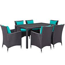 modern outdoor dining sets. Wonderful Outdoor Oceana 7 Piece 59 Inside Modern Outdoor Dining Sets