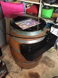 Raspberry Pi Game Cabinet Barrel O Fun Arcade Machine Barrel Table Raspberry Pi