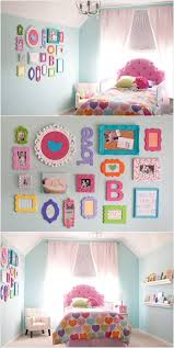 multi colored picture frames wall decor