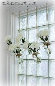 mason jar window treatment 1 7 adore diy hanging mason jar
