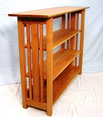 mission style bookcase plans free home design ideas american hwy reclaimed bookshelf desk and chair pier