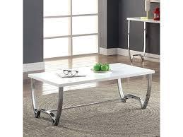 trina white coffee table