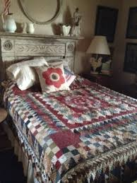 62 best Country Threads a quilt shop in a chicken coop images on ... & From Country Threads- love the mantel as headboard idea Adamdwight.com