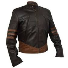 new x men wolverine leather jacket for new arrival