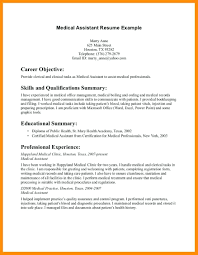 Certified Medical Assistant Resume Sample resume Medical Assistant Resume Sample 49