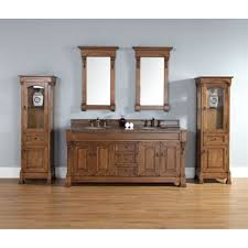 James Martin 72 Brookfield Double Vanity Country Oak Free
