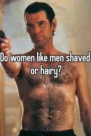 Do women like hairy men