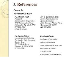 Resume References Format Resume Template Easy Http Www