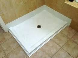 custom solid surface shower pan solid surface shower bases new showers bases solid surface shower pan