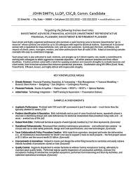 Resume Templates For Finance Professionals Resume Sample