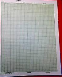 Details About Graph Paper Sheets Pad 1mm Grid A4 Graph Pad Grid Pad Maths Pad 25 Sheets