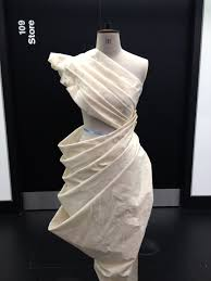 Draping On The Stand Dress Design Developing Structure Using A