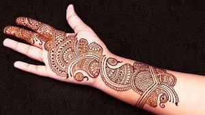 Front Hand Mehndi Design Simple Front Hand Arabic Mehndi Designs For Stylish Girls Women