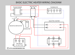 hvac training on electric heaters electric heat diagram not for field use