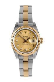 Vintage Rolex Women's Datejust Stainless Steel & Yellow Gold Watch on  HauteLook | Tipos de joyas, Boutique, Accesorios