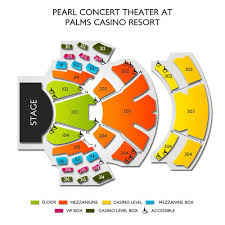 Pearl Concert Theater At Palms Casino Resort Tickets