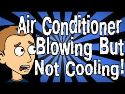 my air conditioner is ing but not