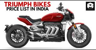 2021 triumph motorcycles list in