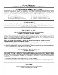 Sample Technical Resumes Sample Technical Resume Samples With Regard To conversionmetricsco 1