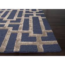 revisited tan and white area rug delightful blue rugs contemporary navy for flooring