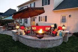 Patio Design Ideas With Fire Pits fire pit patio design ideas 1