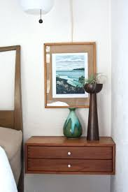 Wall Mounted Bedside Table Medium Size Of Tall Nightstands Wall Mounted  Bedside Table Tables Narrow Floating