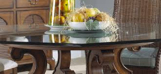 chic glass top round dining table 48