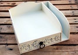 shabby chic office accessories. Shabby Chic Desk Accessories Stationary Organizer Office O