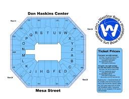 Don Haskins Center El Paso Seating Chart Don Haskins Basketball Invitational Tony The Tiger Sun