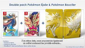 Pokemon Sword And Shield Double Pack To Include Steelbook In Europe