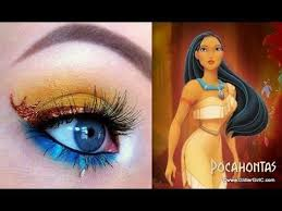 pocahontas makeup tutorial you channel full sc sk3bia