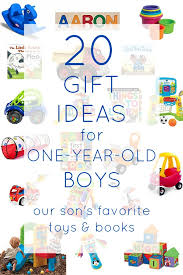 Gift ideas for one year old boys | The Inspired Hive