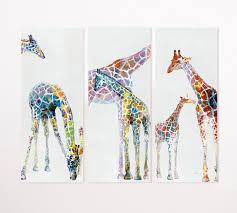 giraffe furniture. Giraffe Triptych Furniture