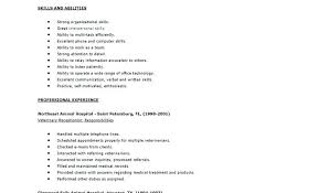 Veterinary Resume Fascinating Veterinary Receptionist Resumes Veterinary Receptionist Resume
