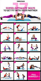 Sexercise Chart 17 Super Intimate Ways To Get Fit With Your Partner