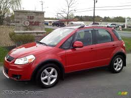 2008 Suzuki SX4 Crossover Touring AWD in Vivid Red - 101638 ...