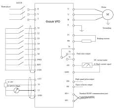 variable frequency drive working principle vfd basic wiring diagram