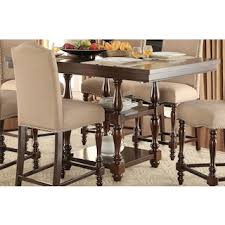 benwick pubheight dining table dark cherry images of dining tables l9 images